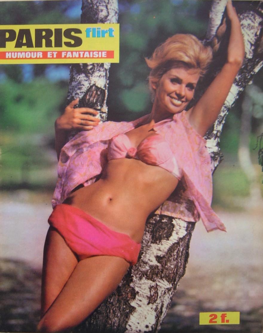 PARIS FLIRT 649.  1969 FRENCH MAGAZINE.