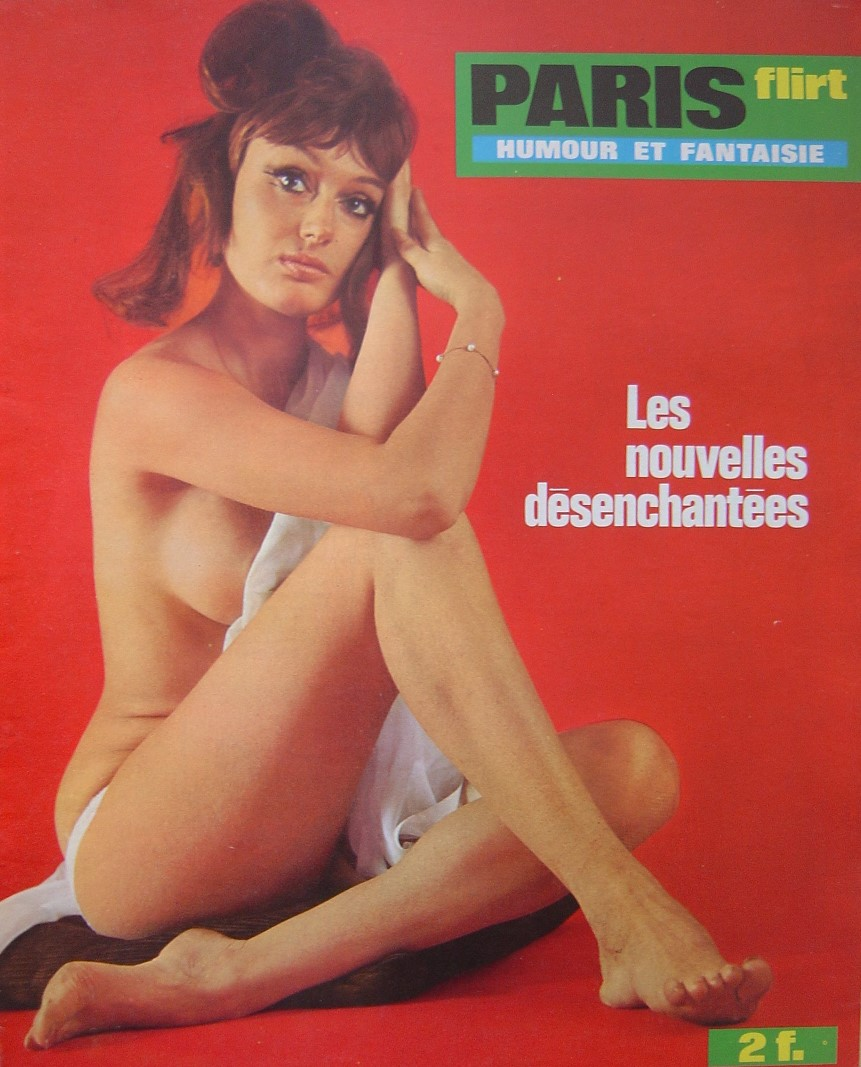 PARIS FLIRT 635.  1969 FRENCH MAGAZINE.