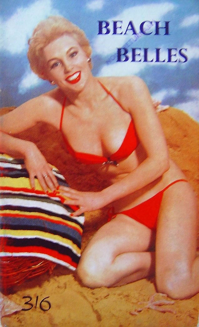 BEACH BELLES.  MEN`S POCKET MAGAZINE.