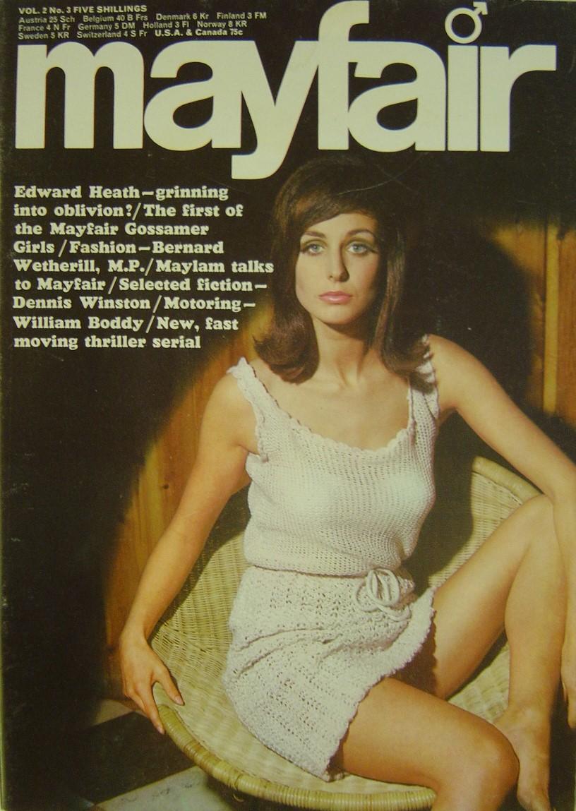 MAYFAIR VOL. 2 NO. 3 1967. MEN`S MAGAZINE.