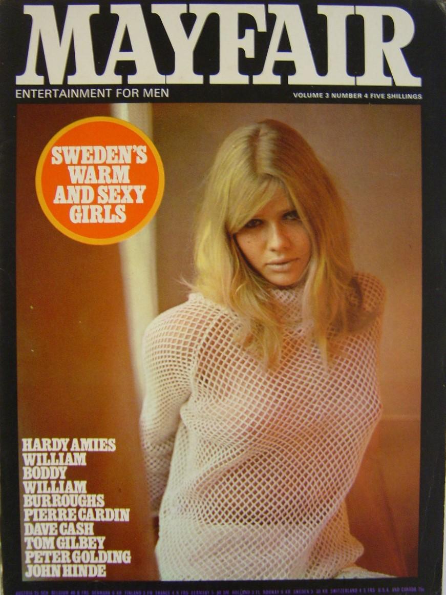 MAYFAIR VOL. 3 NO. 4  1968. MEN`S MAGAZINE.