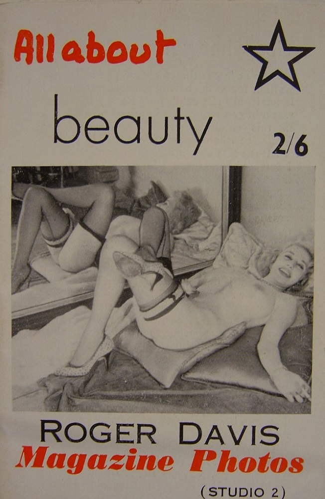 ALL ABOUT BEAUTY. VINTAGE MEN`S POCKET MAGAZINE.