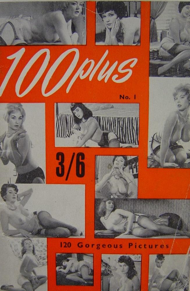 100 PLUS. NO. 1. VINTAGE MEN`S POCKET MAGAZINE.
