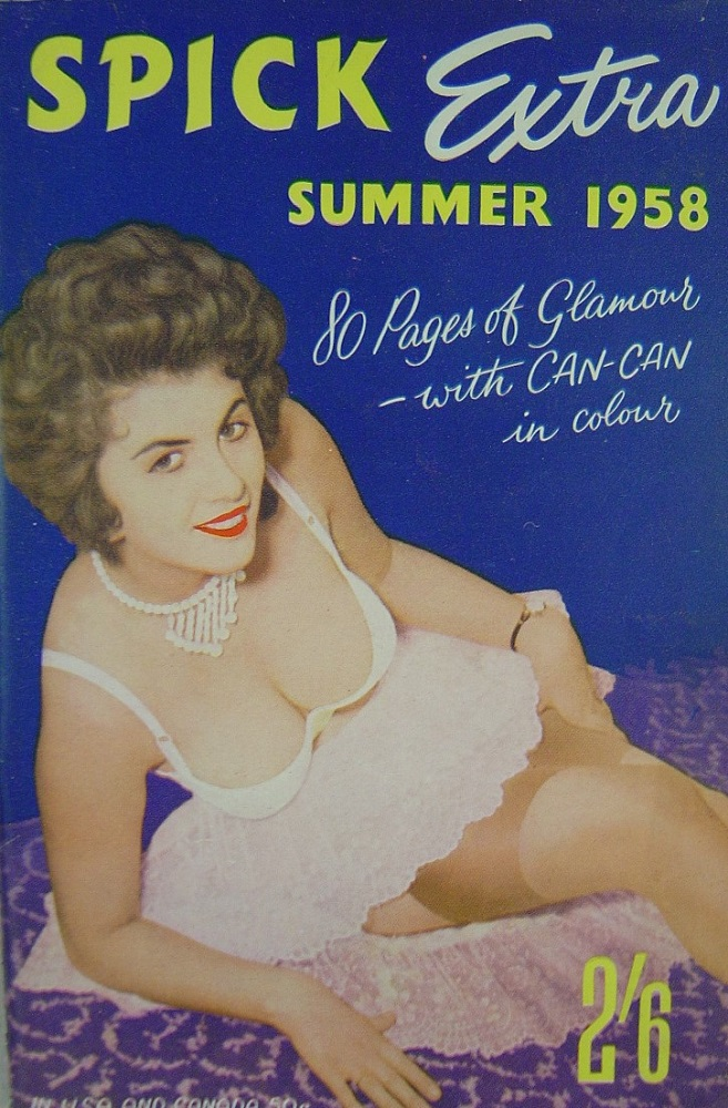 SPICK EXTRA. 1958 VINTAGE MEN`S POCKET MAGAZINE.