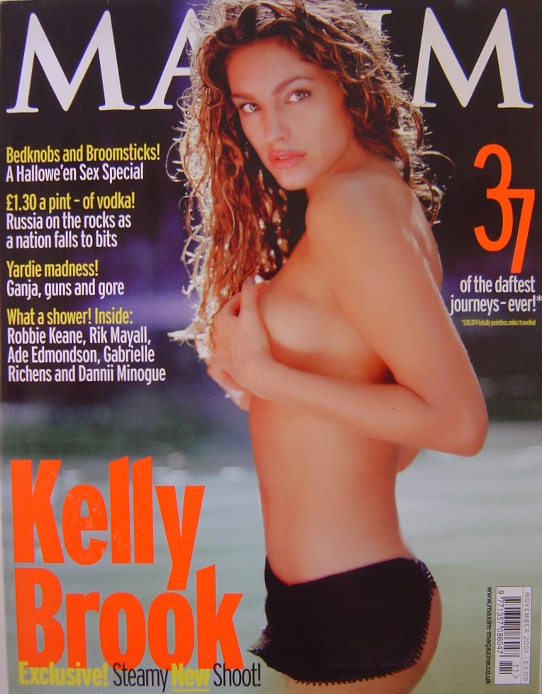 MAXIM. NOV. 2001. VINTAGE MEN`S MAGAZINE.