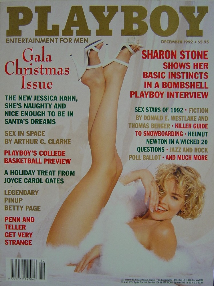 PLAYBOY. DEC. 1992. MEN`S MAGAZINE