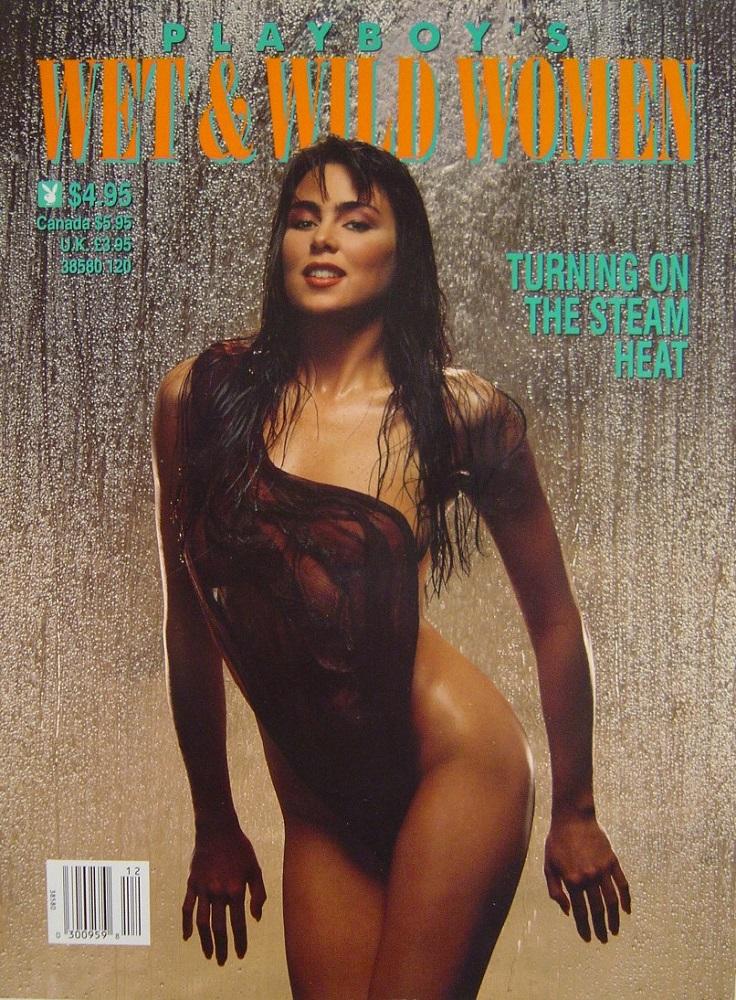 PLAYBOY`S WET & WILD WOMEN. MEN`S MAGAZINE