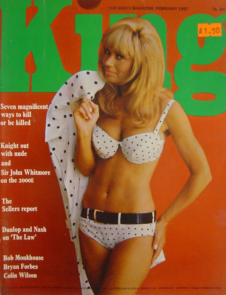 KING. FEB. 1967. MEN`S MAGAZINE.