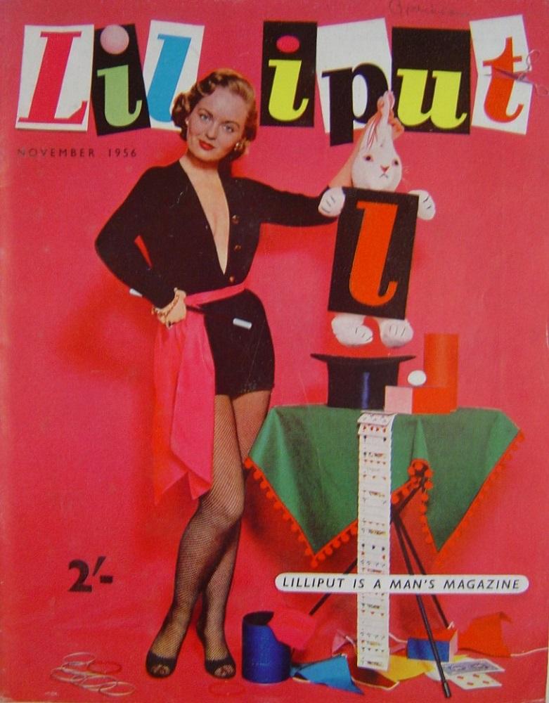 LILLIPUT. NOV. 1956. MEN`S MAGAZINE.