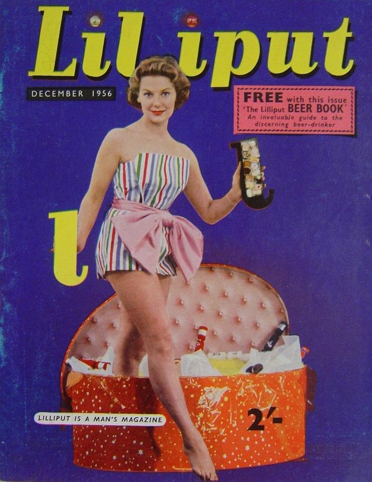LILLIPUT. DEC. 1956. MEN`S MAGAZINE.