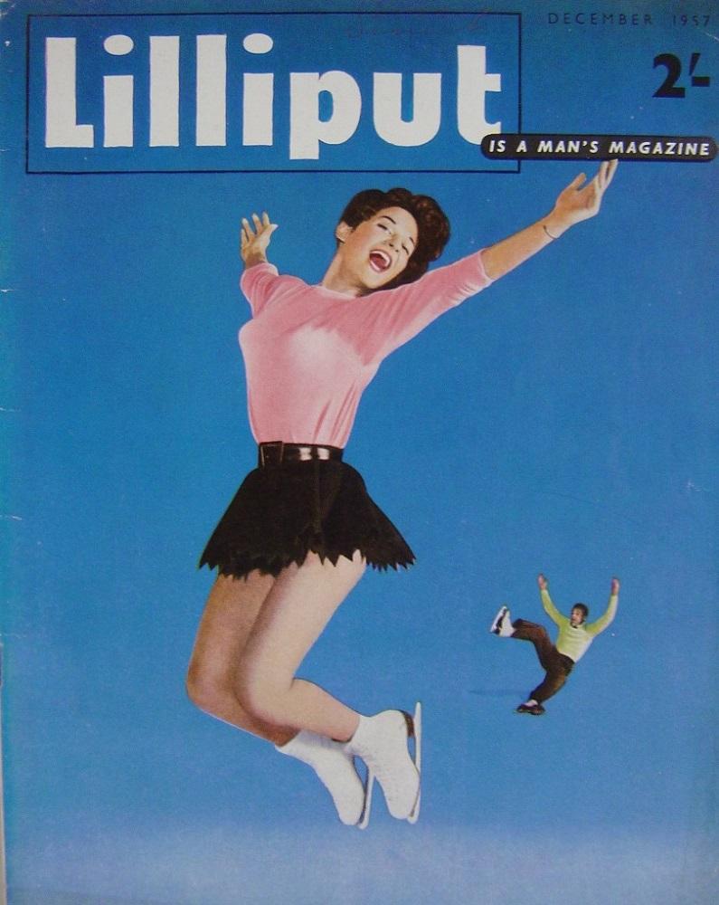 LILLIPUT. DEC. 1957. MEN`S MAGAZINE.