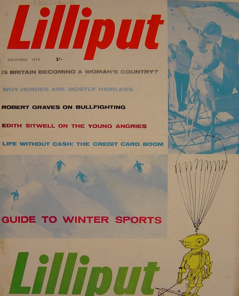 LILLIPUT. NOV. 1959. MEN`S MAGAZINE.