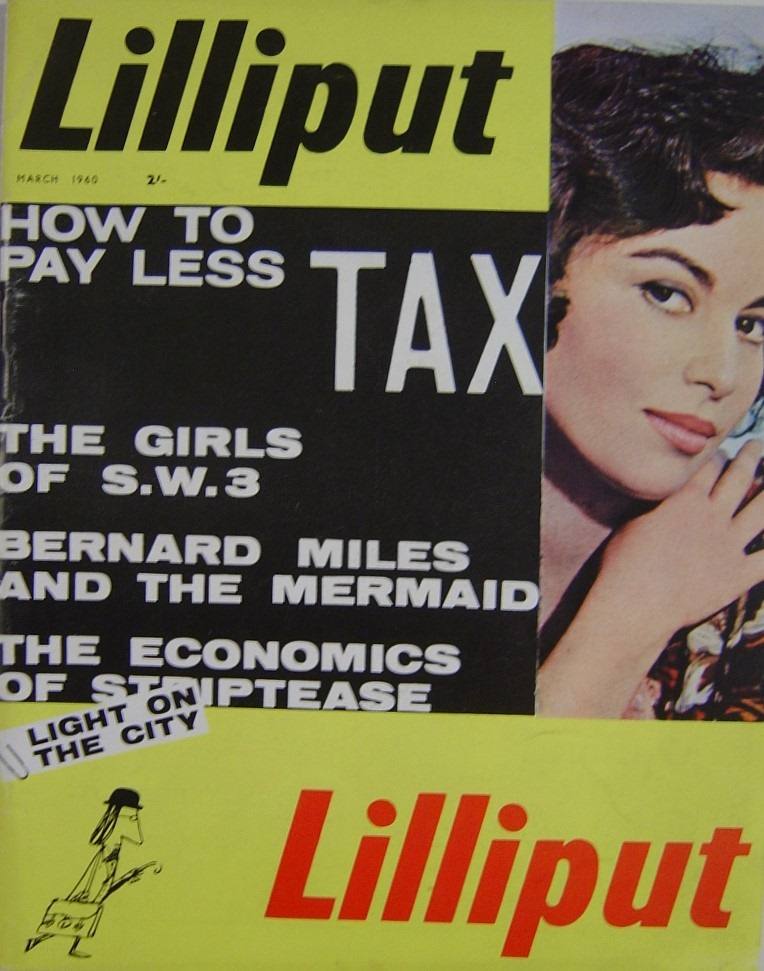 LILLIPUT. MAR. 1960. MEN`S MAGAZINE.