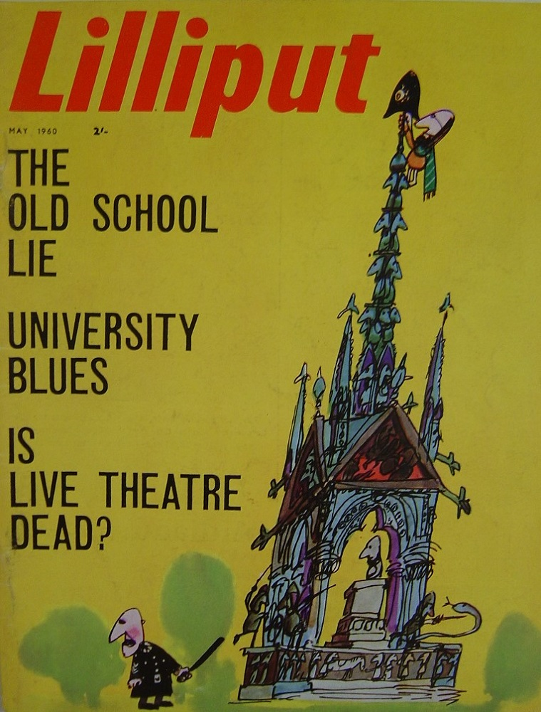 LILLIPUT. MAY. 1960. MEN`S MAGAZINE.