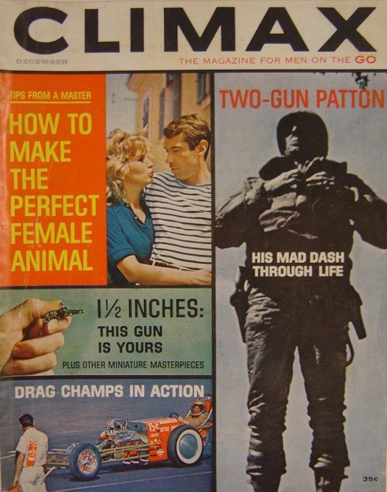 CLIMAX. DEC. 1962. PULP MAGAZINE.