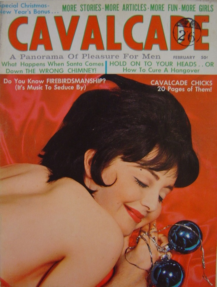 CAVALCADE. FEB.1964. MEN`S MAGAZINE.