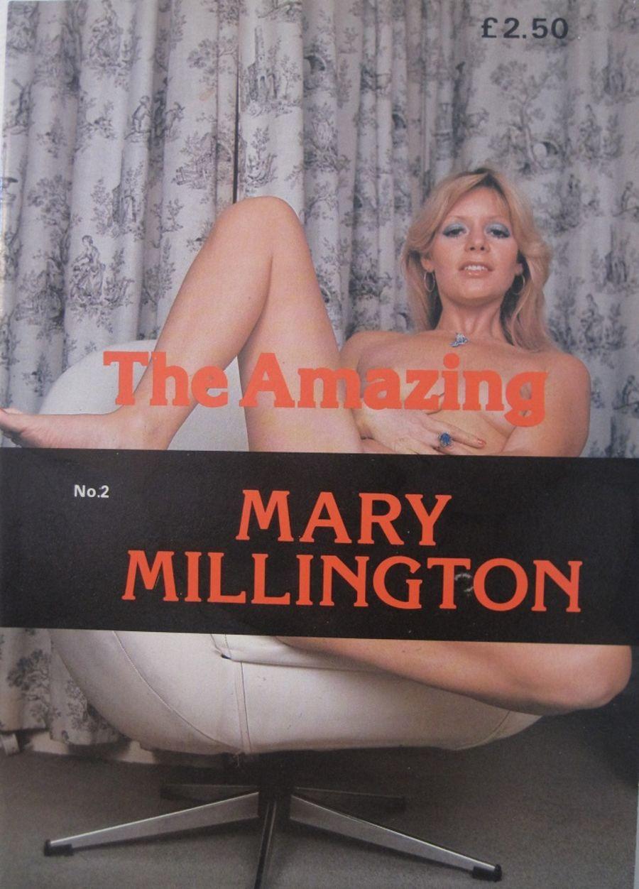 MARY MILLINGTON. NO.2. VINTAGE MEN'S MAGAZINE.