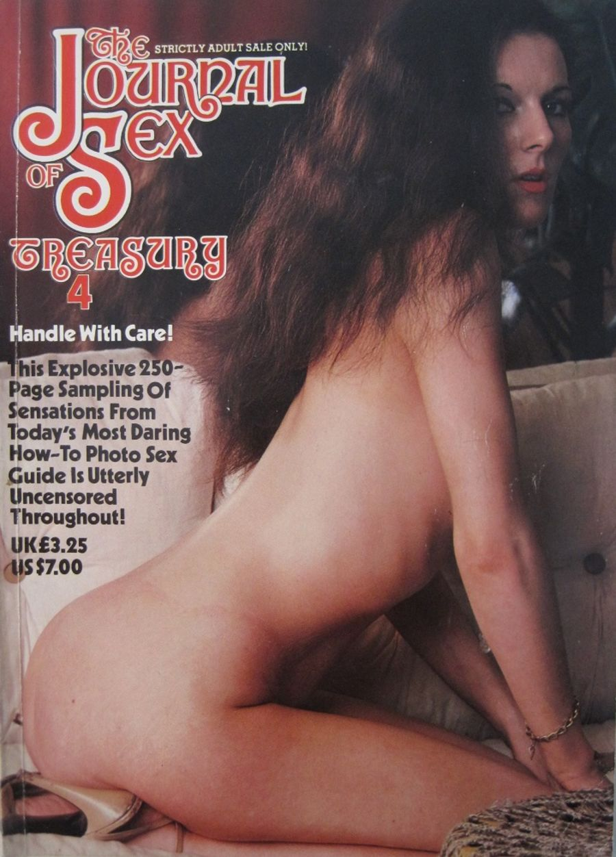 THE JOURNAL OF SEX TREASURY. NO. 4. VINTAGE MEN'S MAGAZINE.