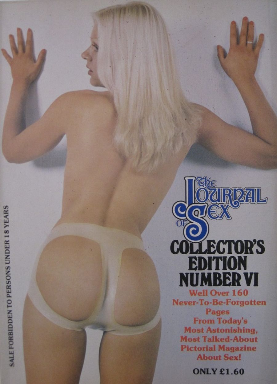THE JOURNAL OF SEX COLLECTOR'S EDITION. NO. 6. VINTAGE MEN'S MAGAZINE.