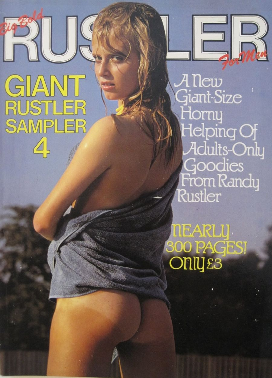 RUSTLER GIANT SAMPLER. NO. 4. VINTAGE MEN'S MAGAZINE.