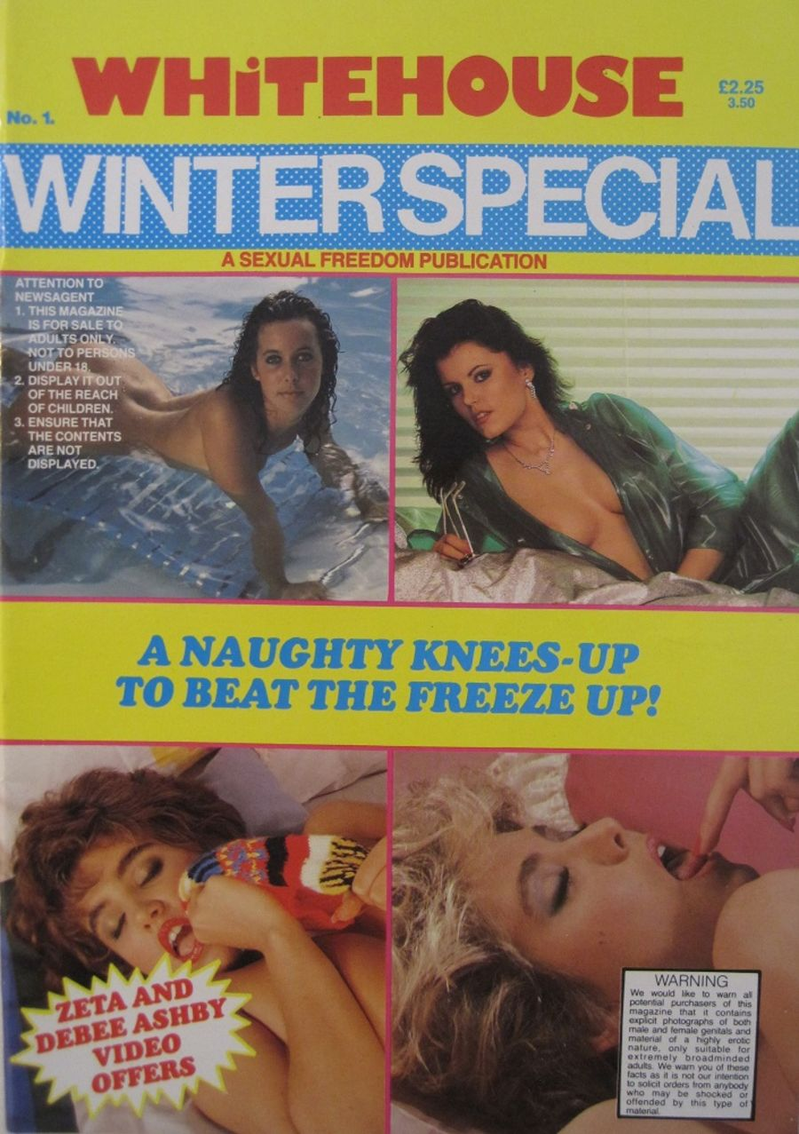 WHITEHOUSE WINTER SPECIAL. NO. 1. VINTAGE MEN'S MAGAZINE.