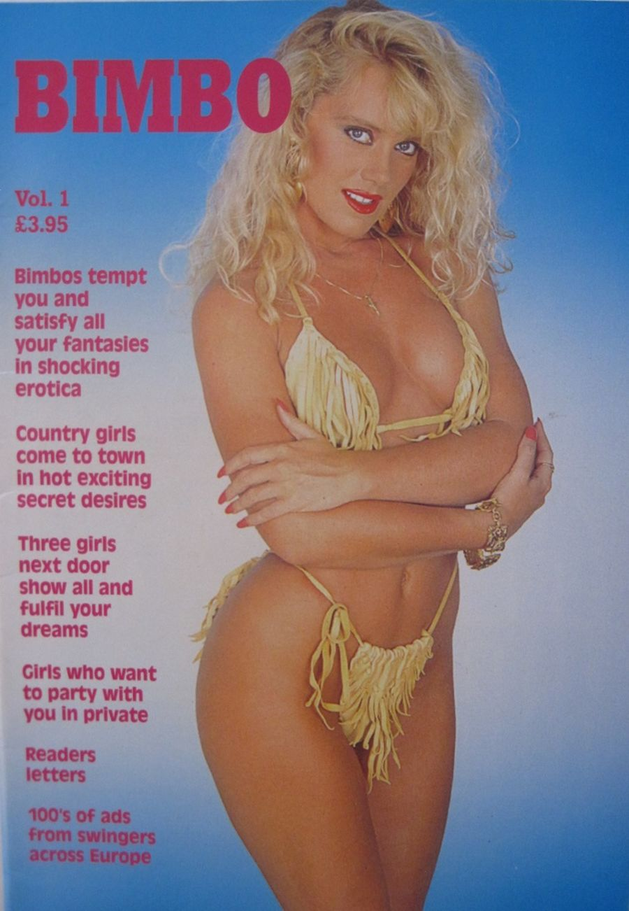 BIMBO. NO. 1. VINTAGE MEN'S MAGAZINE.