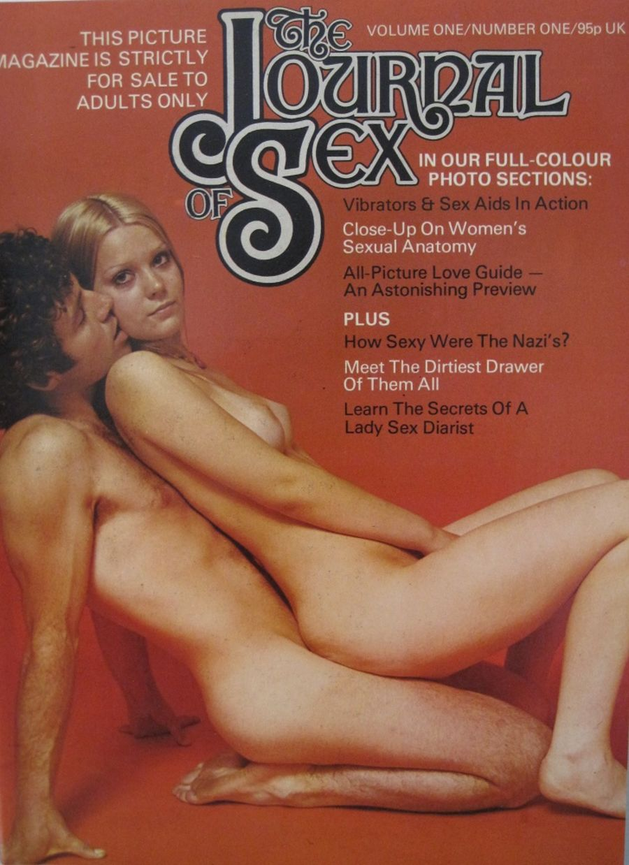 THE JOURNAL OF SEX. VOL. 1 NO. 1. VINTAGE MEN'S MAGAZINE.