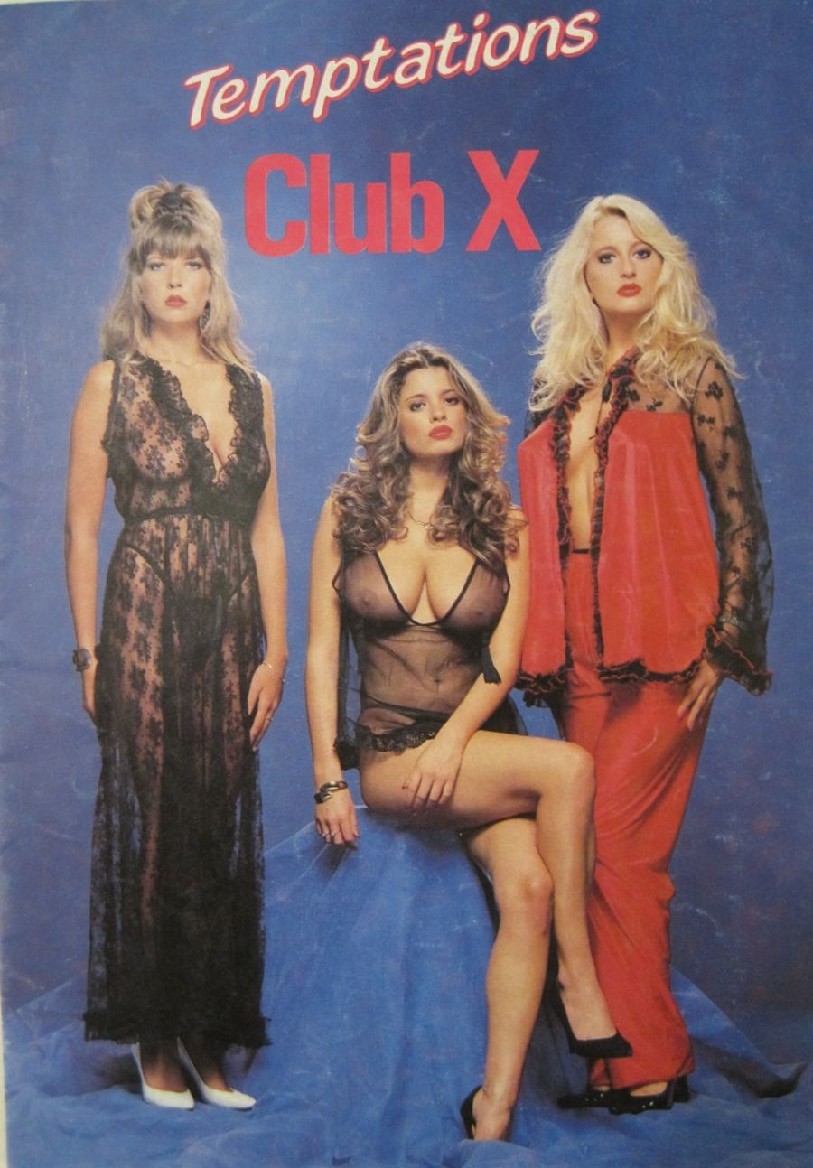 CLUB X BY TEMPTATIONS. VINTAGE LINGERIE CATALOGUE.