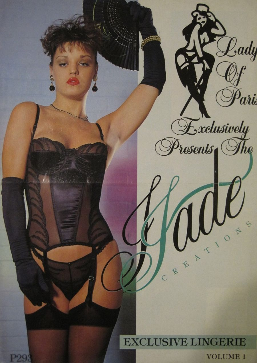 JADE CREATIONS. VINTAGE LINGERIE CATALOGUE.