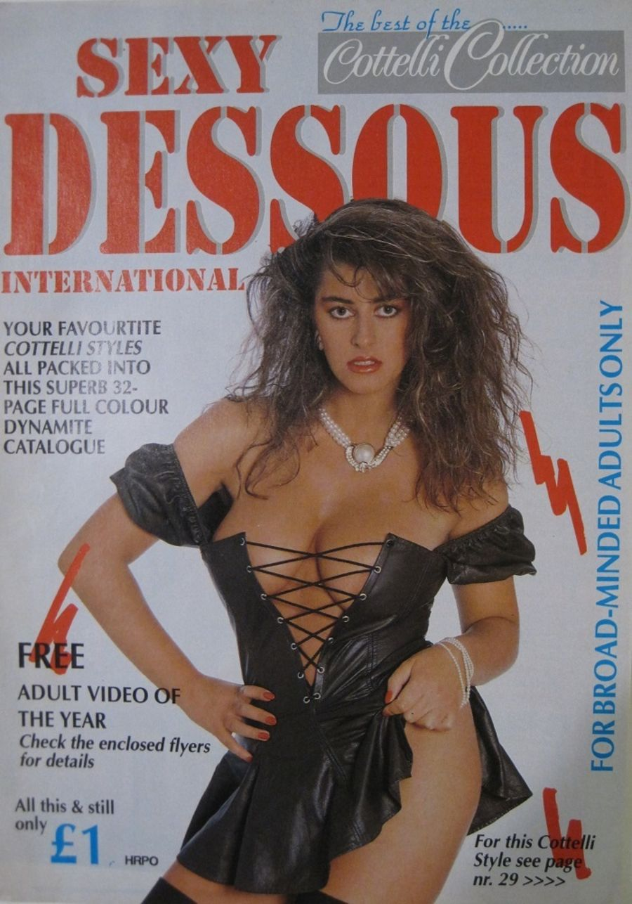 SEXY DESSOUS. VINTAGE LINGERIE CATALOGUE.