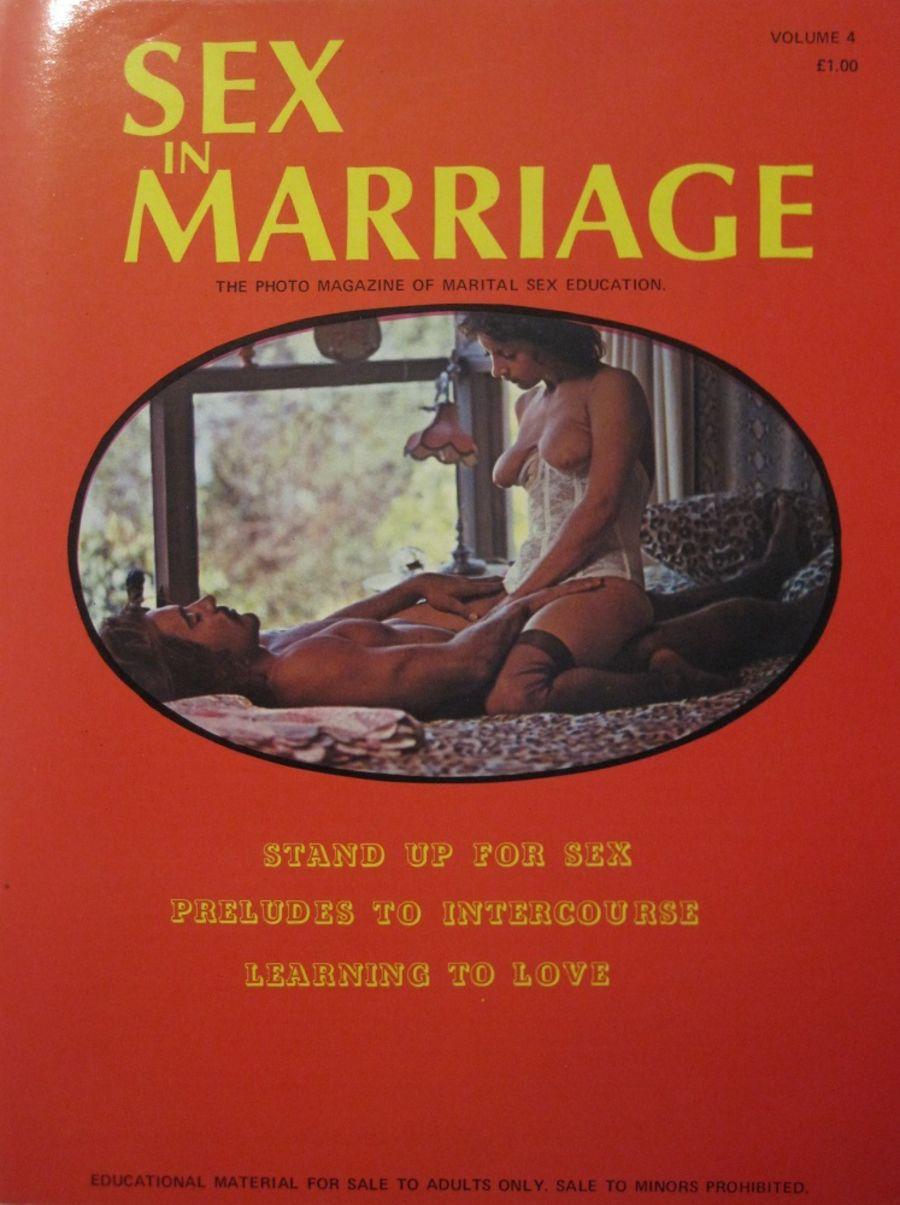 SEX IN MARRIAGE. VOL. 4. VINTAGE MEN'S MAGAZINE.