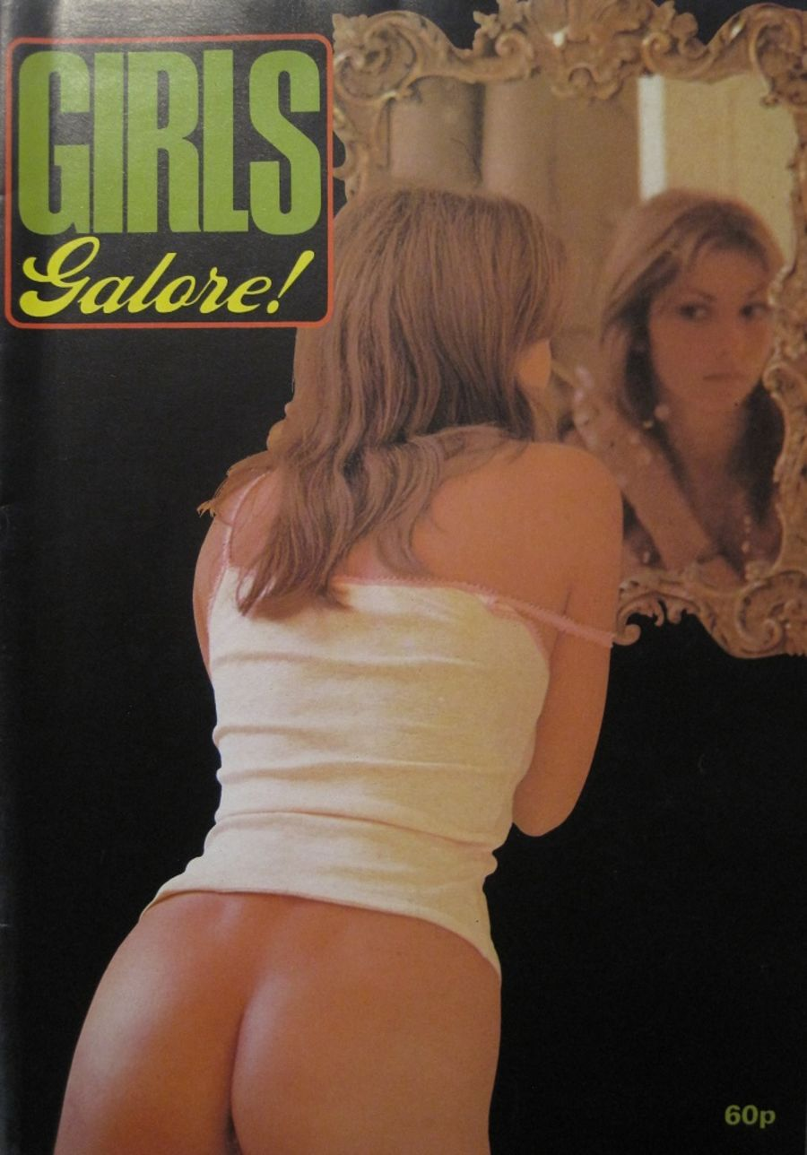 GIRLS GALORE. 1975 VINTAGE MEN'S MAGAZINE.