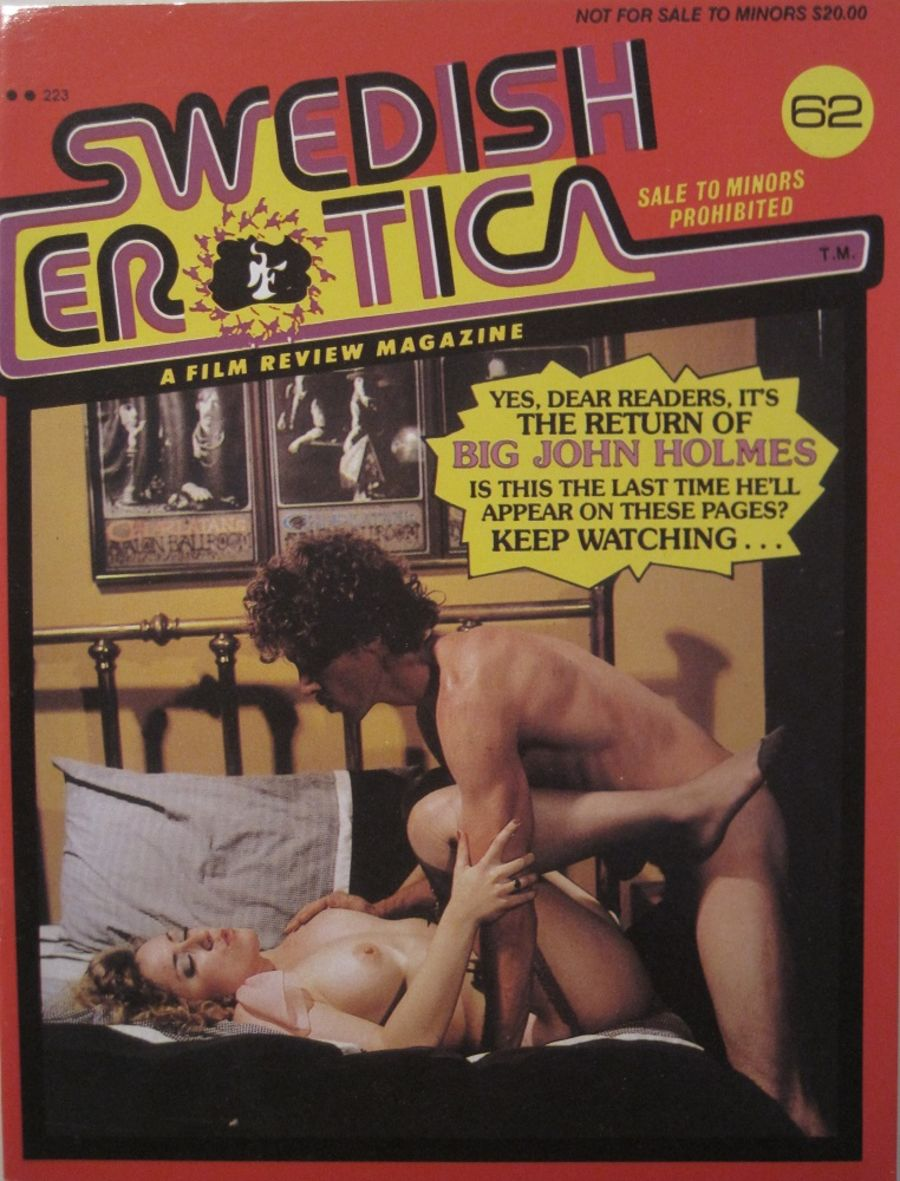 SWEDISH EROTICA. NO. 62. VINTAGE MEN'S MAGAZINE.