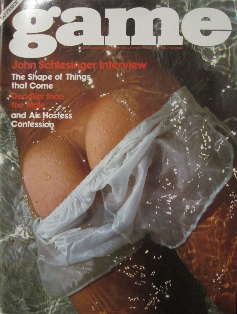 GAME. VOL. 2 NO. 7. 1975 VINTAGE MEN'S MAGAZINE.