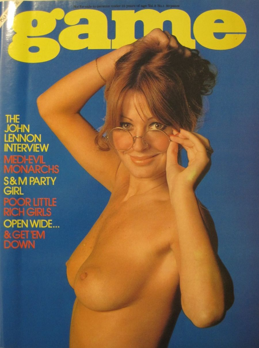 GAME. VOL. 3 NO. 1. 1976 VINTAGE MEN'S MAGAZINE.
