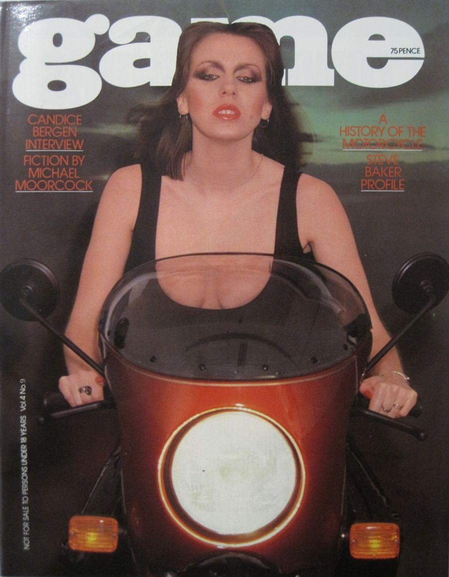 GAME. VOL. 4 NO. 9. 1977 VINTAGE MEN'S MAGAZINE.