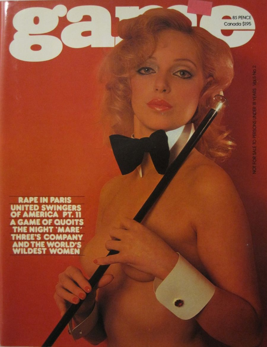 GAME. VOL. 5 NO. 2. 1978 VINTAGE MEN'S MAGAZINE.