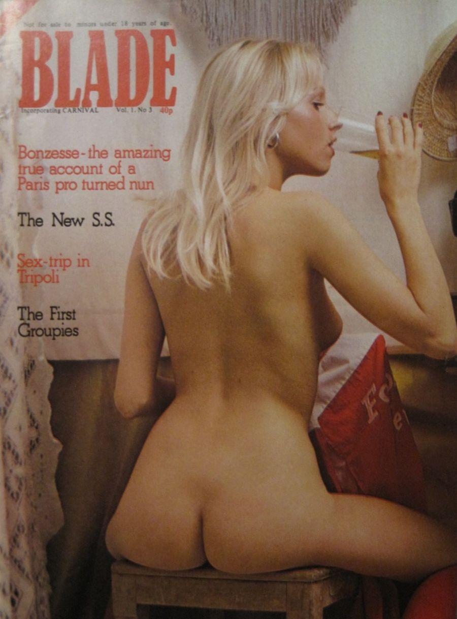 BLADE. VOL. 1 NO. 3. 1976 VINTAGE MEN'S MAGAZINE.
