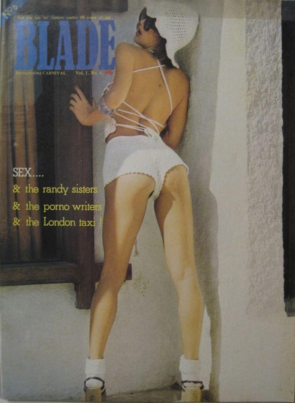 BLADE. VOL. 1 NO. 6. 1976 VINTAGE MEN'S MAGAZINE.