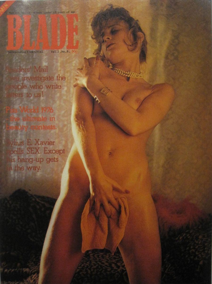 BLADE. VOL. 1 NO. 8. 1976 VINTAGE MEN'S MAGAZINE.