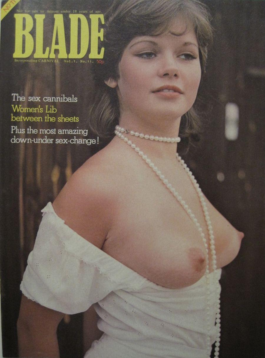 BLADE. VOL. 1 NO. 11. 1976 VINTAGE MEN'S MAGAZINE.