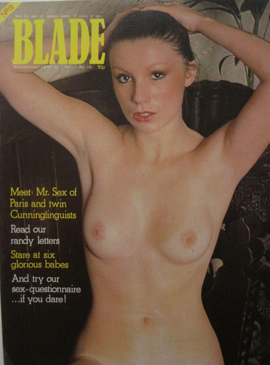 BLADE. VOL. 1 NO. 12. 1976 VINTAGE MEN'S MAGAZINE.