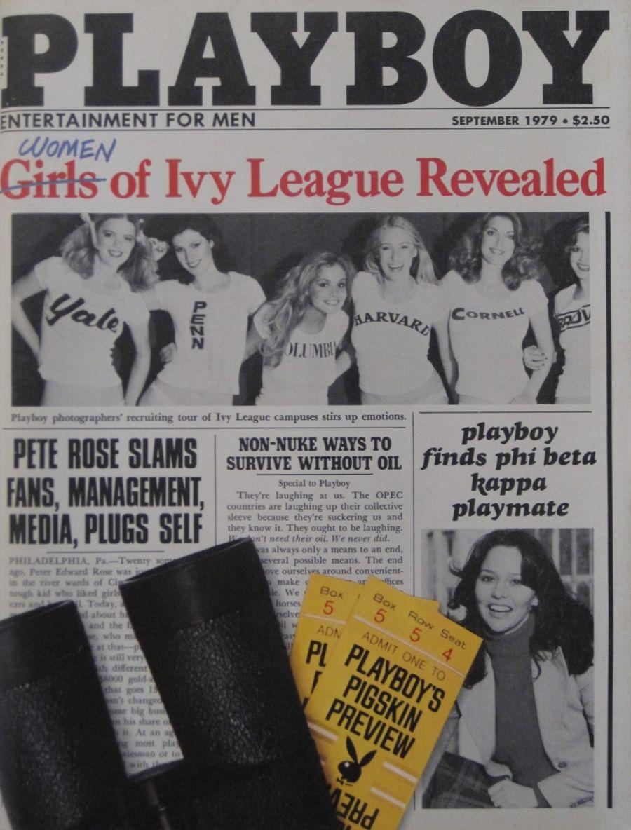 PLAYBOY. SEPT. 1979. VINTAGE MEN'S MAGAZINE.