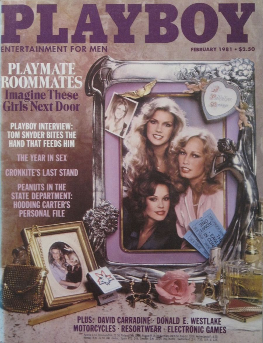 PLAYBOY. FEB. 1981. VINTAGE MEN'S MAGAZINE.