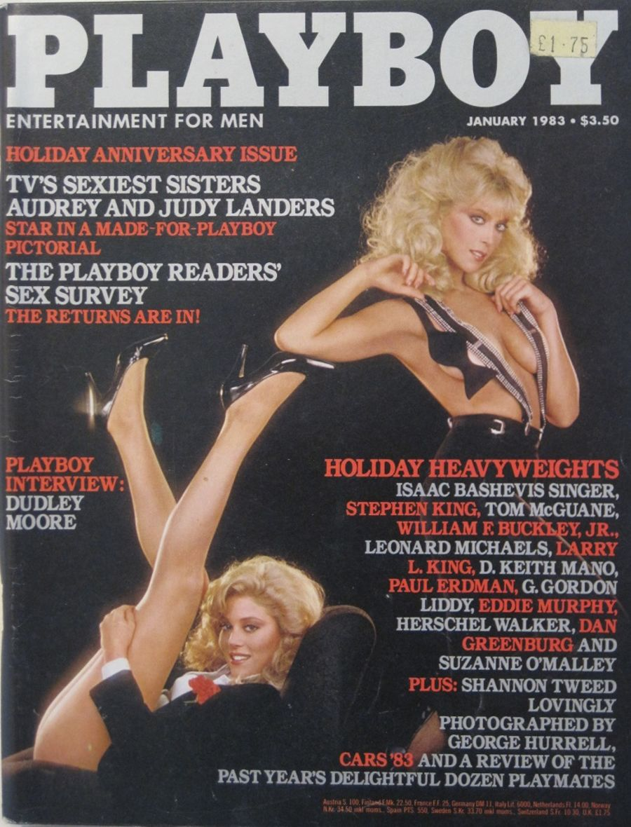 PLAYBOY. JAN. 1983. VINTAGE MEN'S MAGAZINE.