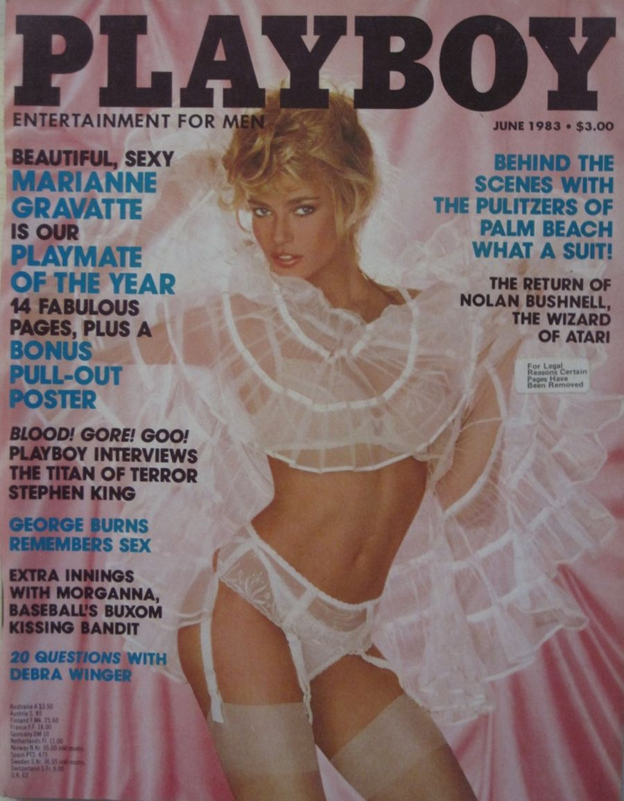 PLAYBOY. JUN. 1983. VINTAGE MEN'S MAGAZINE.