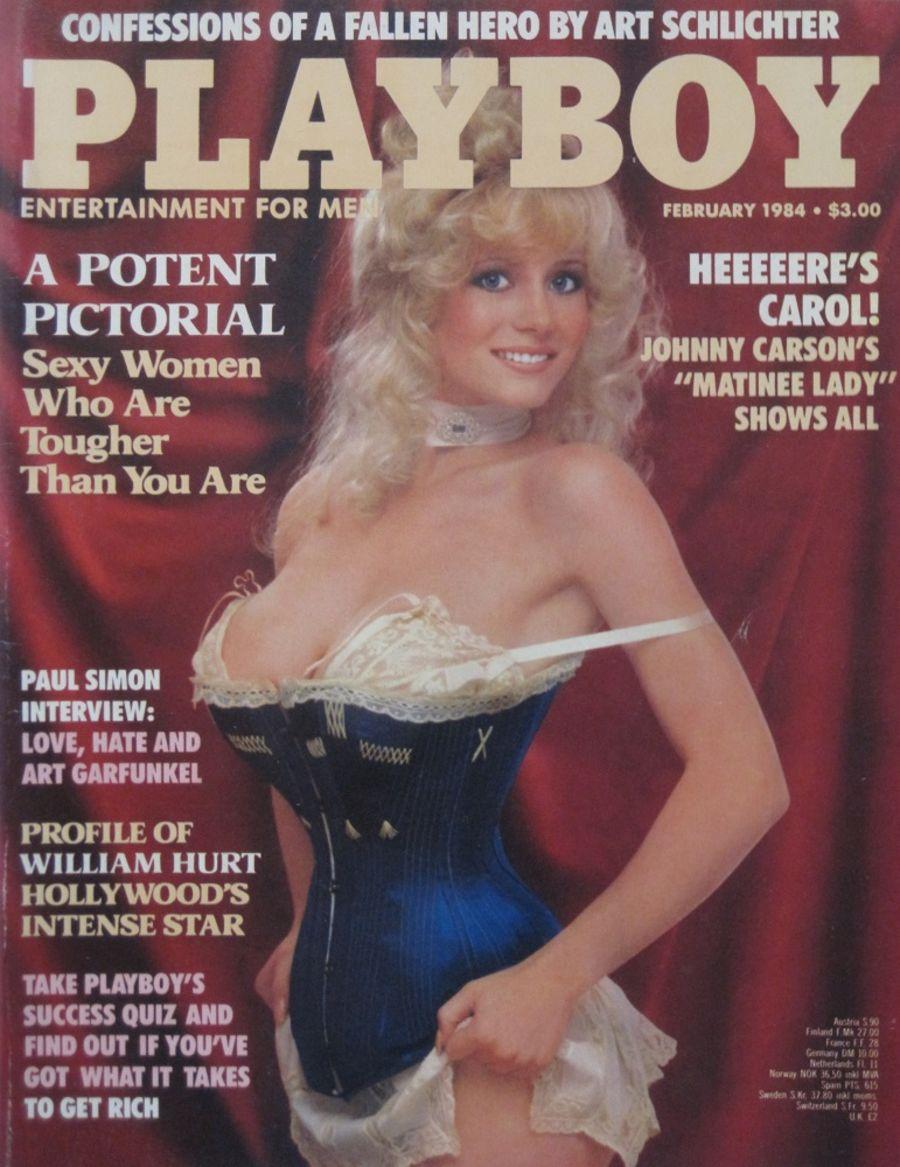PLAYBOY. FEB. 1984. VINTAGE MEN'S MAGAZINE.