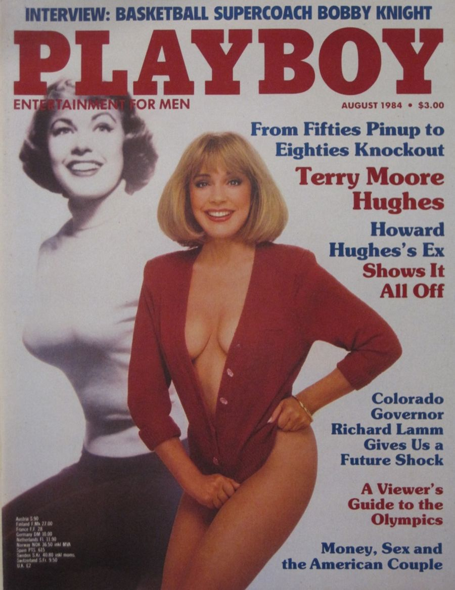 PLAYBOY. AUG. 1984. VINTAGE MEN'S MAGAZINE.