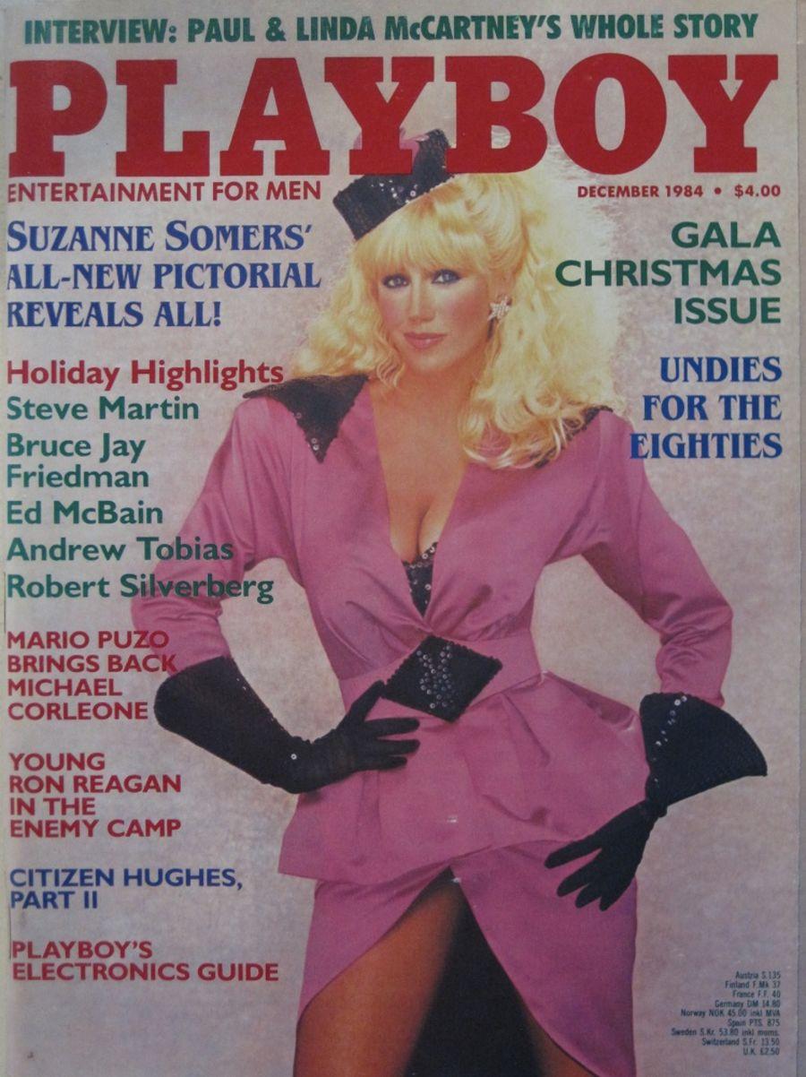 PLAYBOY. DEC. 1984. VINTAGE MEN'S MAGAZINE.