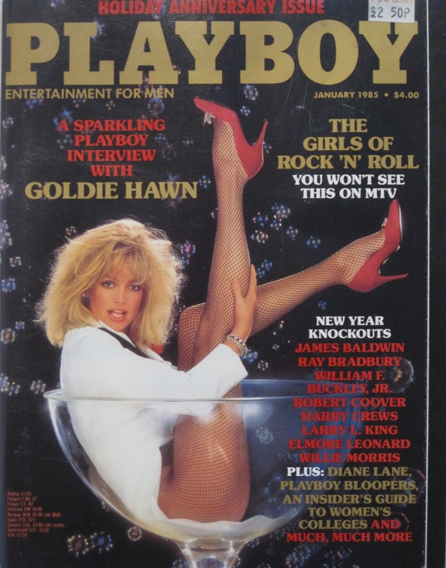PLAYBOY. JAN. 1985. VINTAGE MEN'S MAGAZINE.